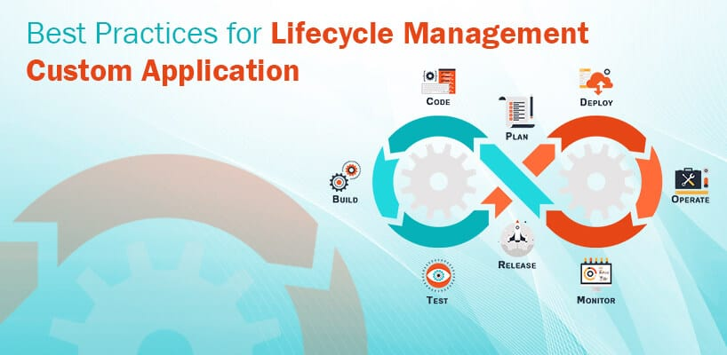 Best practices for Custom Application LifeCycle Management