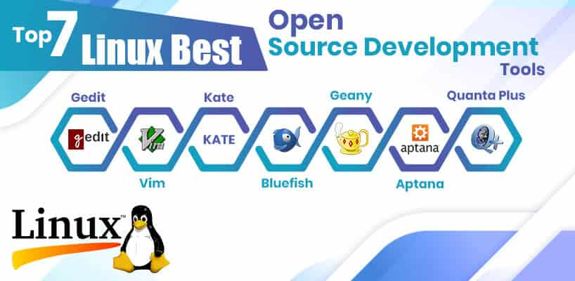 Top 7 Linux Best Open Source Development Tools