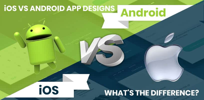 iOS vs Android mobile app design
